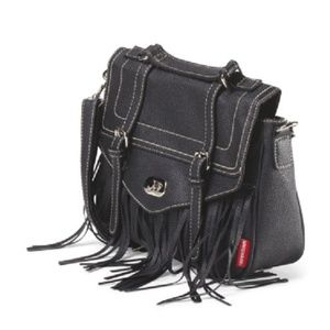 UNIONBAY Bags - NWT Unionbay Fringe Top Handle Crossbody Bag